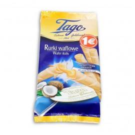 Pasteleria Tubito Tago Relleno Coco 12X160gr.