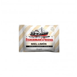 FISHERMANS MIEL-LIMON S/A 12X25GR.