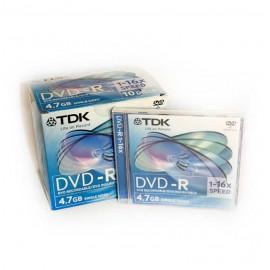DVD-R TDK 4,7GB JAWELL CASE