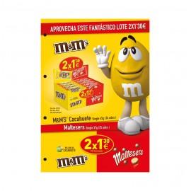 Lote Choco M&M Y Maltesers 2X1,30€ Cod.Bs13f