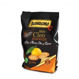 Bandama Mini Cleo Naranja (Avena,Chia,Quinoa) 125G