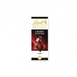 LINDT EXCELLENCE CHERRY INTENSE 20X100GR.
