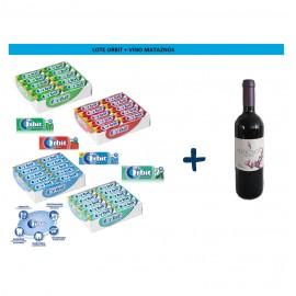 Lote Orbit + Vino Tinto Mataznos