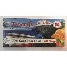 Tableta Tenerife Choco-Naranja  S/Gluten 125Gr.