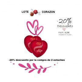 LOTE LINDOR CORAZON 20%