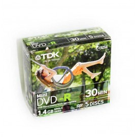 DVD-R TDK MINI 1,4GB