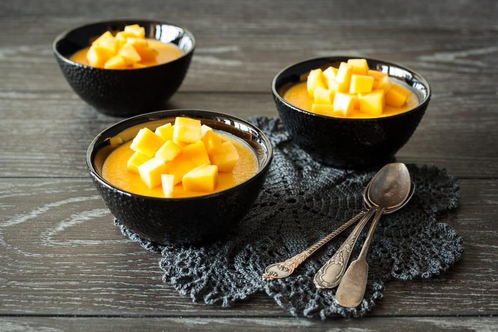 Pudin de mango