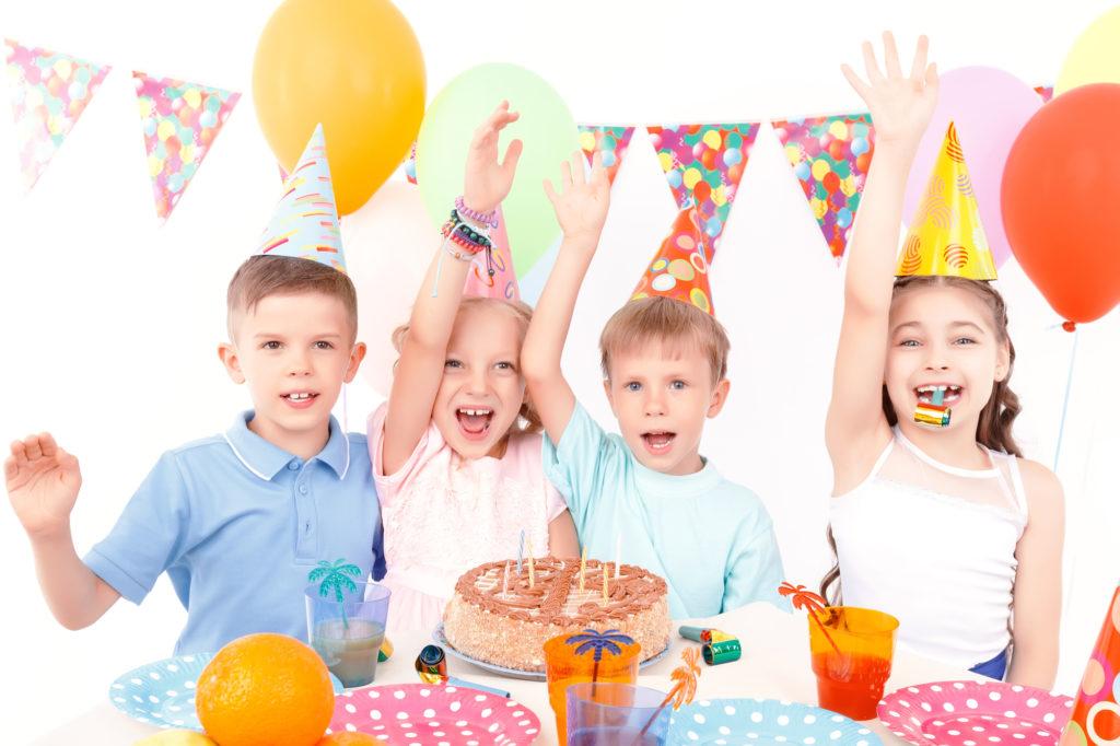 Celebrar un cumpleaños infantil en verano