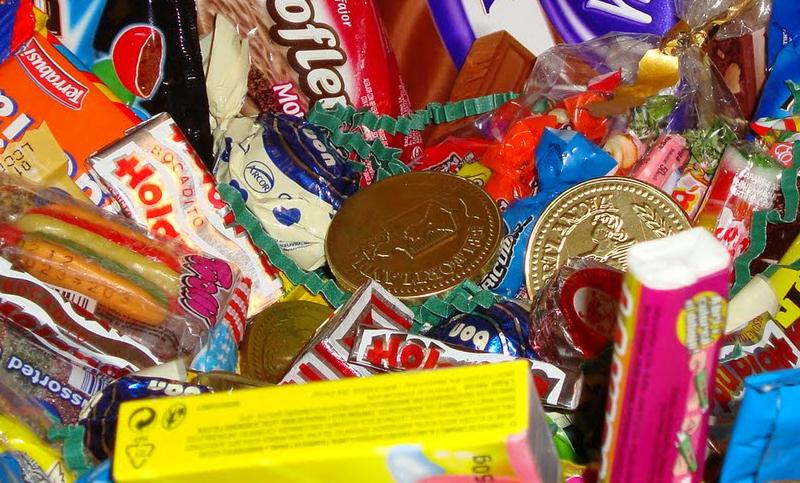 golosinas chocolate