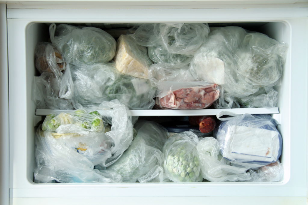 Congelar alimentos