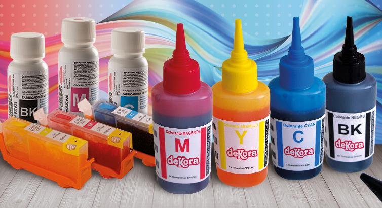 Cartuchos de tinta alimentaria para impresoras