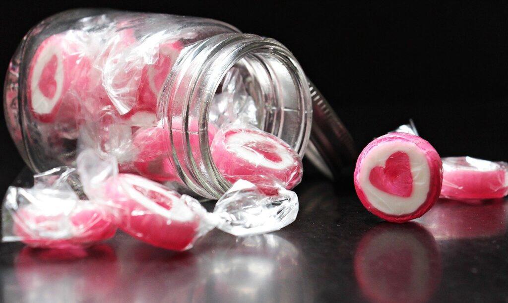 Datos de consumo de caramelos